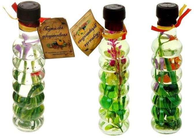 Создание сада в бутылке своими руками