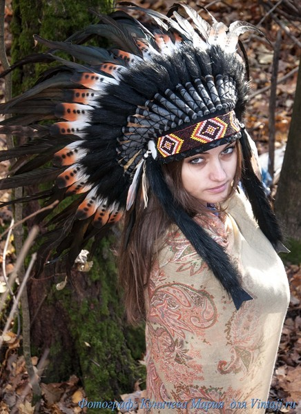 Роуч индейцев своими руками