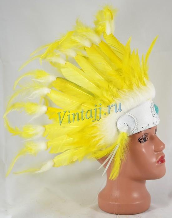 Как сделать индейскую шапку